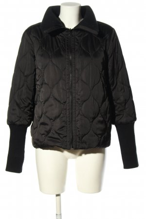 Marella Reversible Jacket black quilting pattern casual look