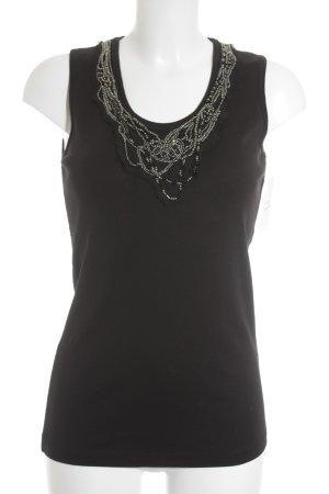 Margittes A-Linien Top schwarz Elegant