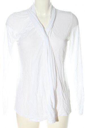 Margittes Giacca a blusa bianco stile casual