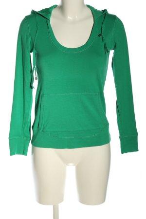 Margittes Shirt met capuchon khaki casual uitstraling