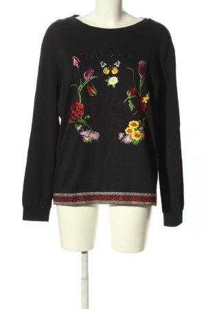 Margittes Longsleeve Blumenmuster Casual-Look