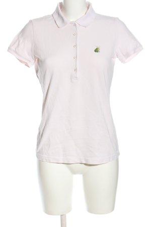 Margittes Koszulka polo biały W stylu casual