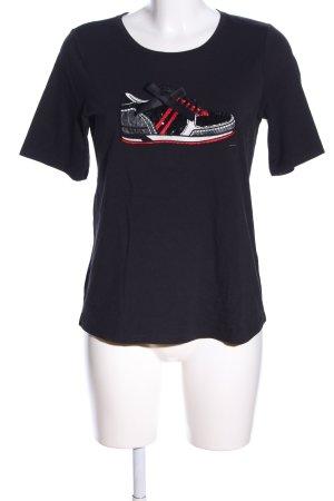 Margittes Print-Shirt Motivdruck Casual-Look