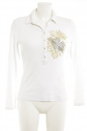 Margittes Print-Shirt mehrfarbig Casual-Look