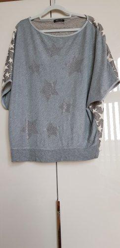 Margittes Camicia oversize grigio-beige chiaro