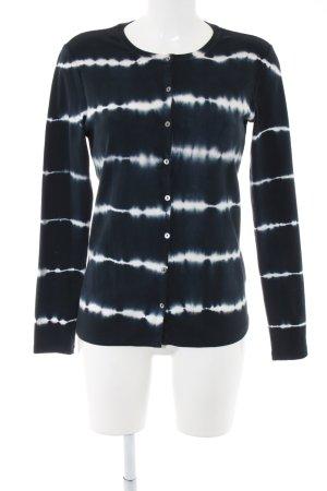 Margittes Sweatshirt schwarz-weiß abstraktes Muster Casual-Look