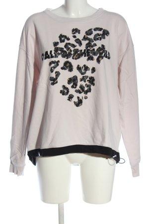 Margittes Sweatshirt Motivdruck Casual-Look