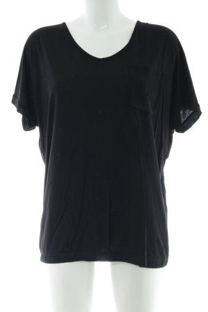 Margittes T-Shirt schwarz Casual-Look