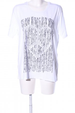 Boysen's Giacca fitness grigio chiaro bianco sporco stampa integrale