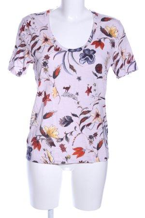Margittes T-Shirt Blumenmuster Casual-Look