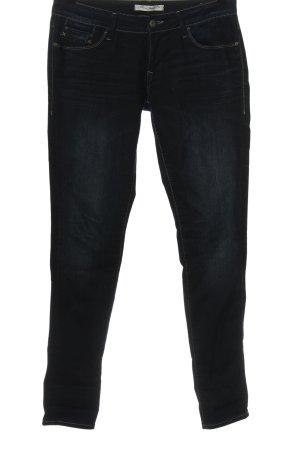 MAri jeans Jeans taille basse bleu style décontracté