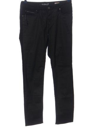 MAri jeans Stoffhose schwarz Casual-Look