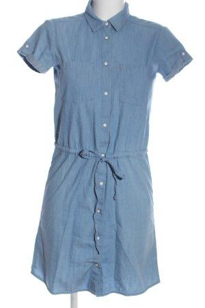 Mari Jeanskleid blau Business-Look