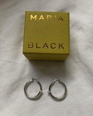 """Maria Black """"Genie"""" Hoops Silber"""