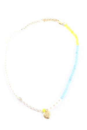 Maria Black Perlenkette mehrfarbig Elegant