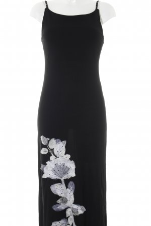 Maria Grazia Severi Abendkleid schwarz-weiß Elegant