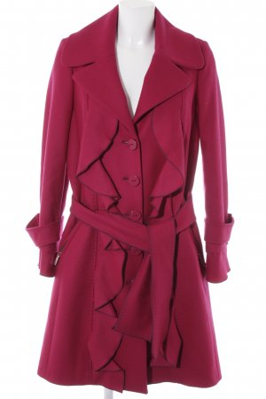 Maria Grazia Severi Fleece Coats multicolored extravagant style