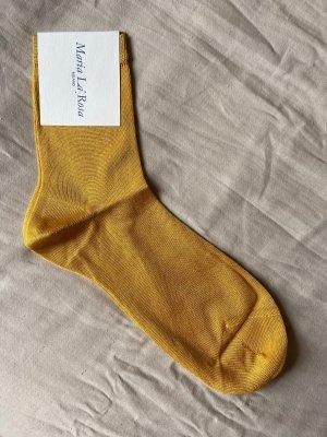 Maria La Rosa Ankle Sock Seide NEU