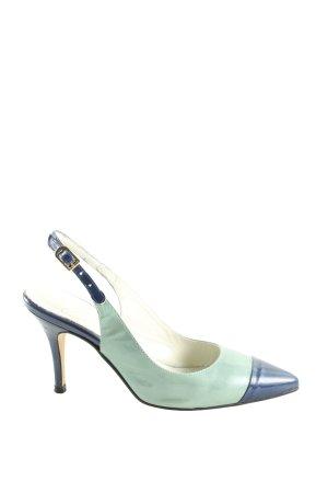Marian Slingback-Pumps türkis-blau Business-Look