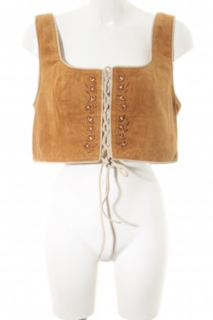 Marianne & Michael Traditional Camisole light orange casual look