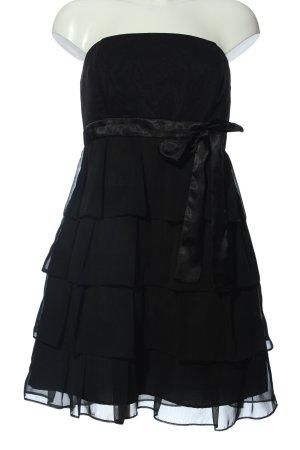 Marie Blanc Abendkleid schwarz Elegant
