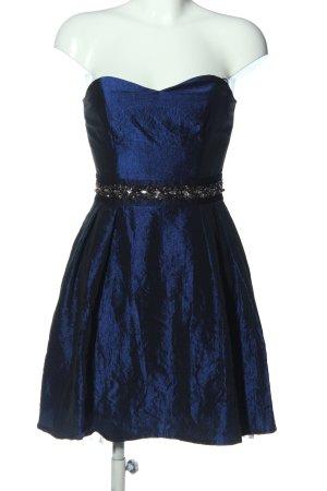 Marie Blanc Abendkleid blau Elegant