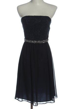 Marie Blanc Evening Dress black glittery