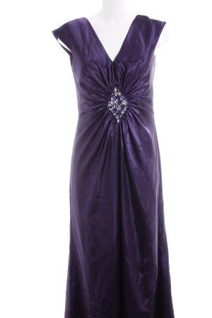 Marie Blanc Abendkleid lila Elegant