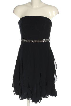 Marie Blanc Bandeaukleid schwarz Elegant