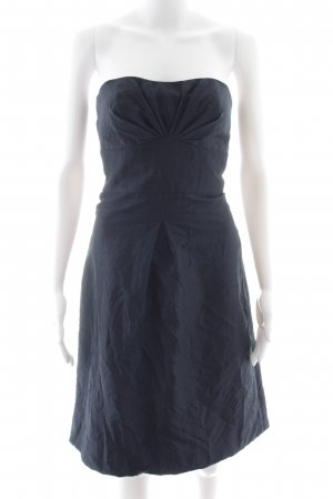 Marie Blanc Bandeau Dress dark blue elegant