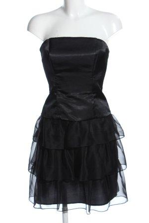 Marie Blanc Bustierkleid schwarz extravaganter Stil
