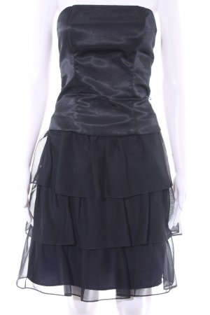 Marie Blanc Bustierkleid dunkelblau Elegant