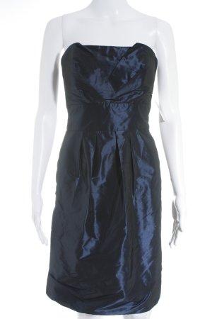 Marie Blanc Bustierkleid dunkelblau Party-Look