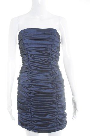 Marie Blanc Cocktailkleid blau Party-Look