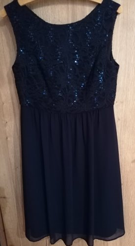 Marie Blanc Cocktail Dress dark blue