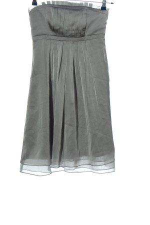 Marie Blanc Mini Dress light grey elegant