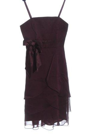 Marie Blanc Mini Dress red elegant