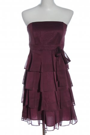 Marie Blanc Off-The-Shoulder Dress lilac elegant