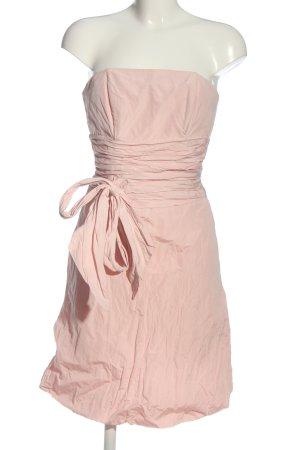 Marie Blanc schulterfreies Kleid nude Casual-Look