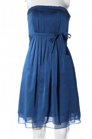 Marie Blanc Off-The-Shoulder Dress blue elegant