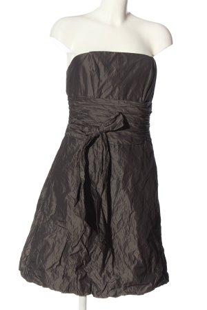 Marie Blanc Off-The-Shoulder Dress bronze-colored elegant