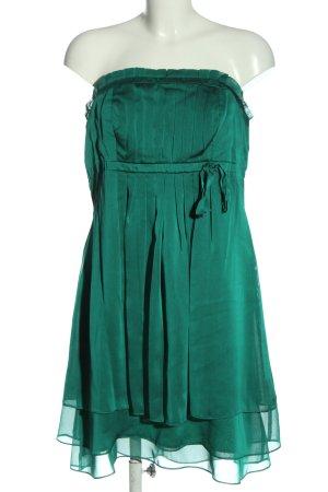 Marie Blanc Off-The-Shoulder Dress green elegant