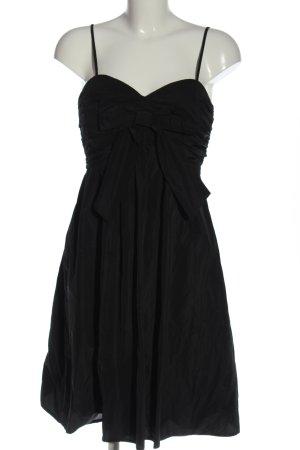 Marie Blanc Pinafore dress black elegant
