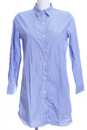 Marie Jo Hemdblusenkleid stahlblau-weiß Streifenmuster Casual-Look