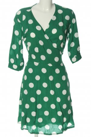 Marie Jo Wraparound green-white allover print casual look