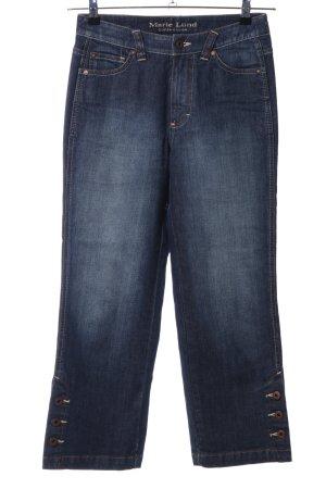 Marie Lund Jeans a 3/4 blu stile casual