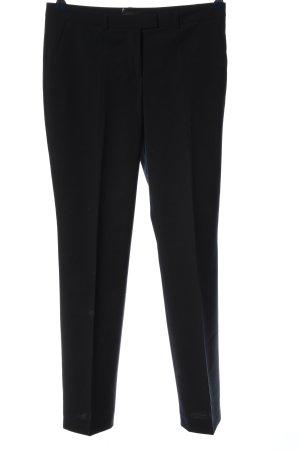 Marie Lund Pantalone a 7/8 nero stile professionale