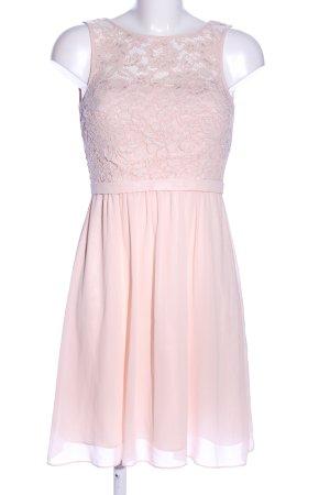 Marie Lund Abendkleid pink Blumenmuster Elegant