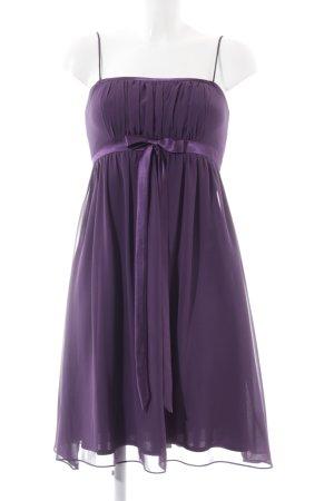 Marie Lund Vestido babydoll lila elegante