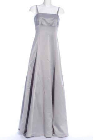 Marie Lund Vestido de baile gris claro elegante